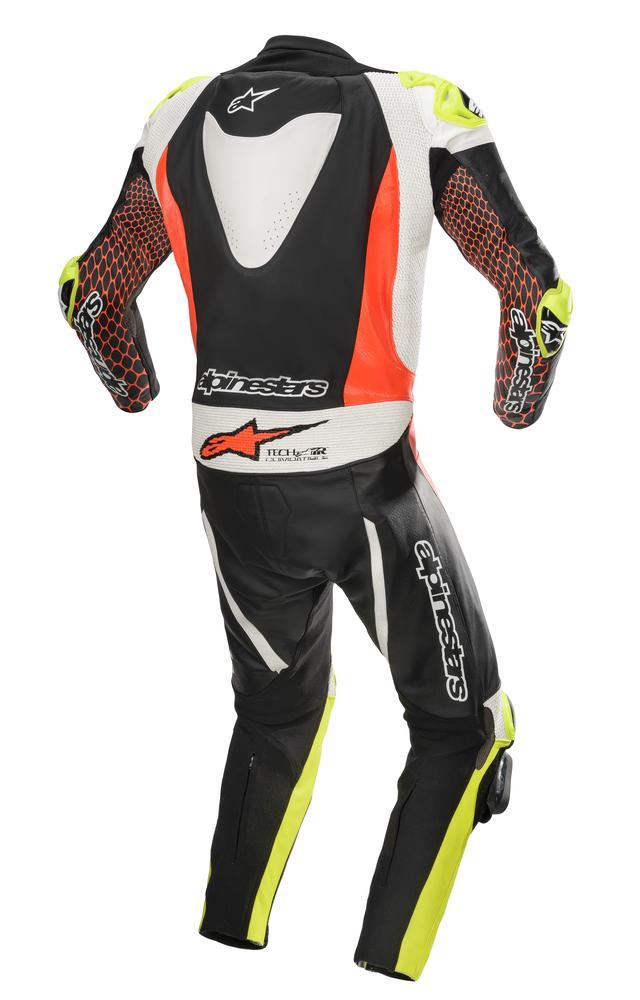 画像4: アルパインスターズから〈TECH-AIR〉エアバッグ対応ハイエンドレーシングレザースーツが新登場