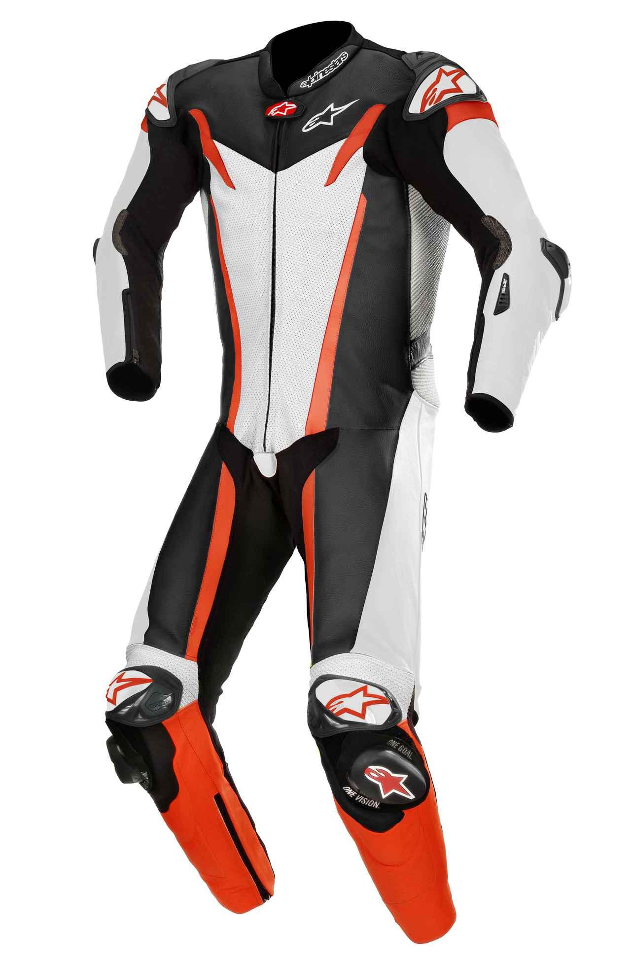 画像6: アルパインスターズから〈TECH-AIR〉エアバッグ対応ハイエンドレーシングレザースーツが新登場