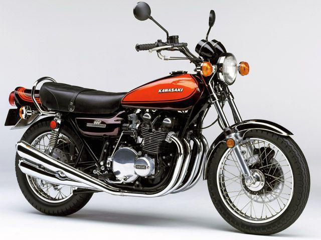 画像: 1972年に川崎重工業が欧州及び北米市場向けに製造販売した「900 SUPER 4(Z1)」。輸出専用世界で累計10数万台以上を販売。