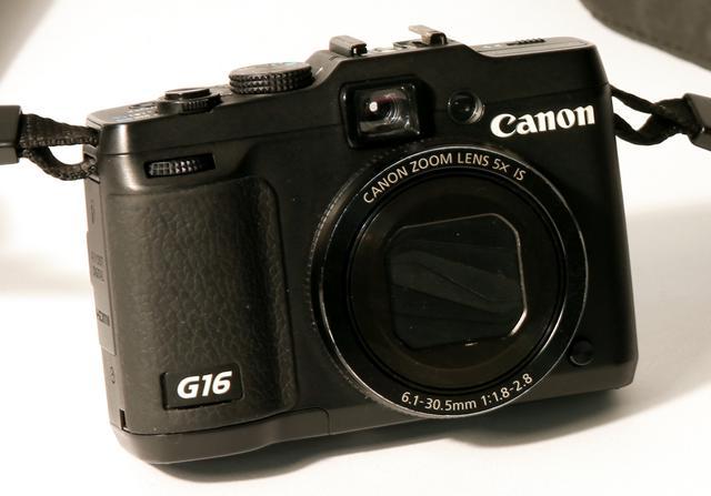 画像: Canon PowerShot G16