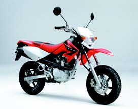 Images : ホンダ XR100/50モタード 2005 年2月