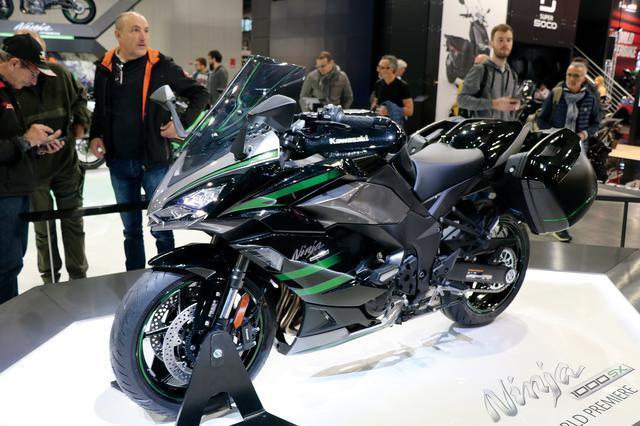 画像: カワサキ「Ninja1000 SX」(オプション装着車) 最高出力:142PS/10000rpm 最大トルク:11.3kg-m/8000rpm 発売時期:2020年初夏