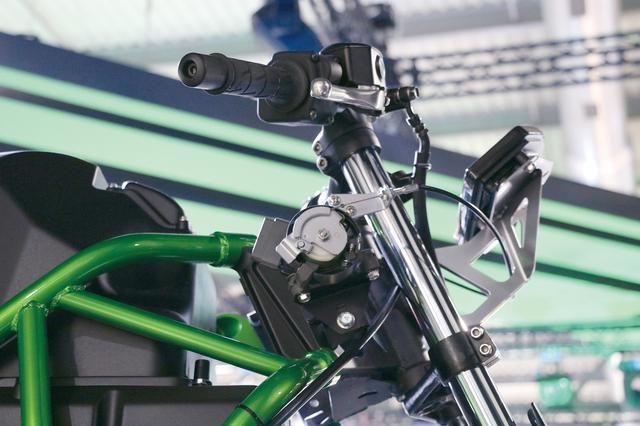 画像2: カワサキが突如発表した電動バイク「EV PROJECT」を考察! 4速マニュアルミッションに回生ブレーキも搭載