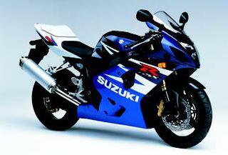 スズキ GSX-R600 2004 年
