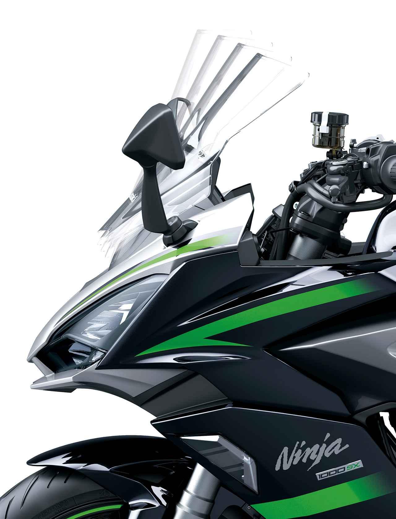 Images : 6番目の画像 - Ninja1000 SXの写真をまとめて見る! - webオートバイ