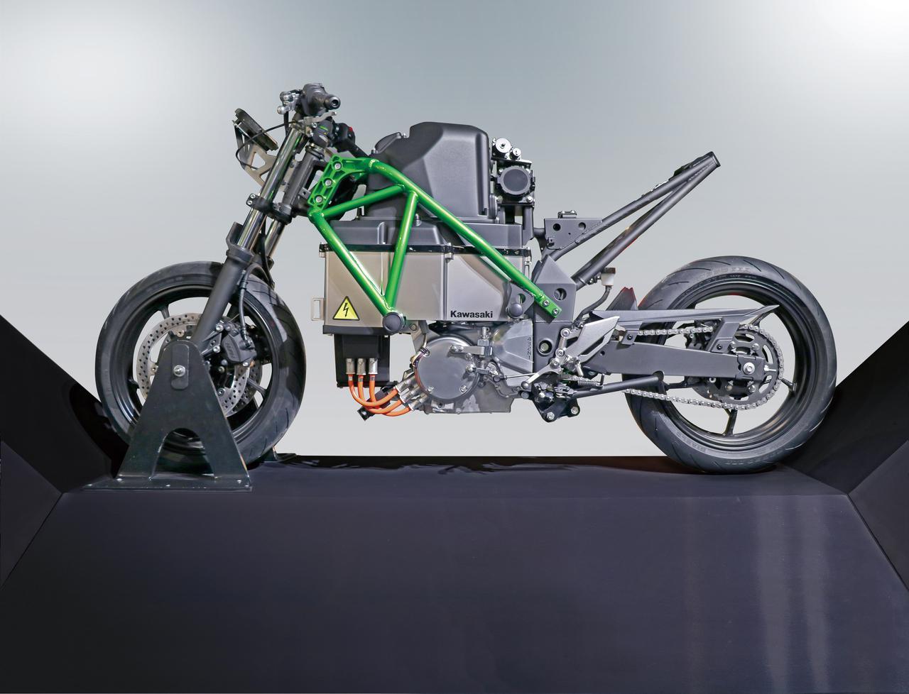Images : 1番目の画像 - カワサキ「EV PROJECT」の写真をまとめて見る! - webオートバイ