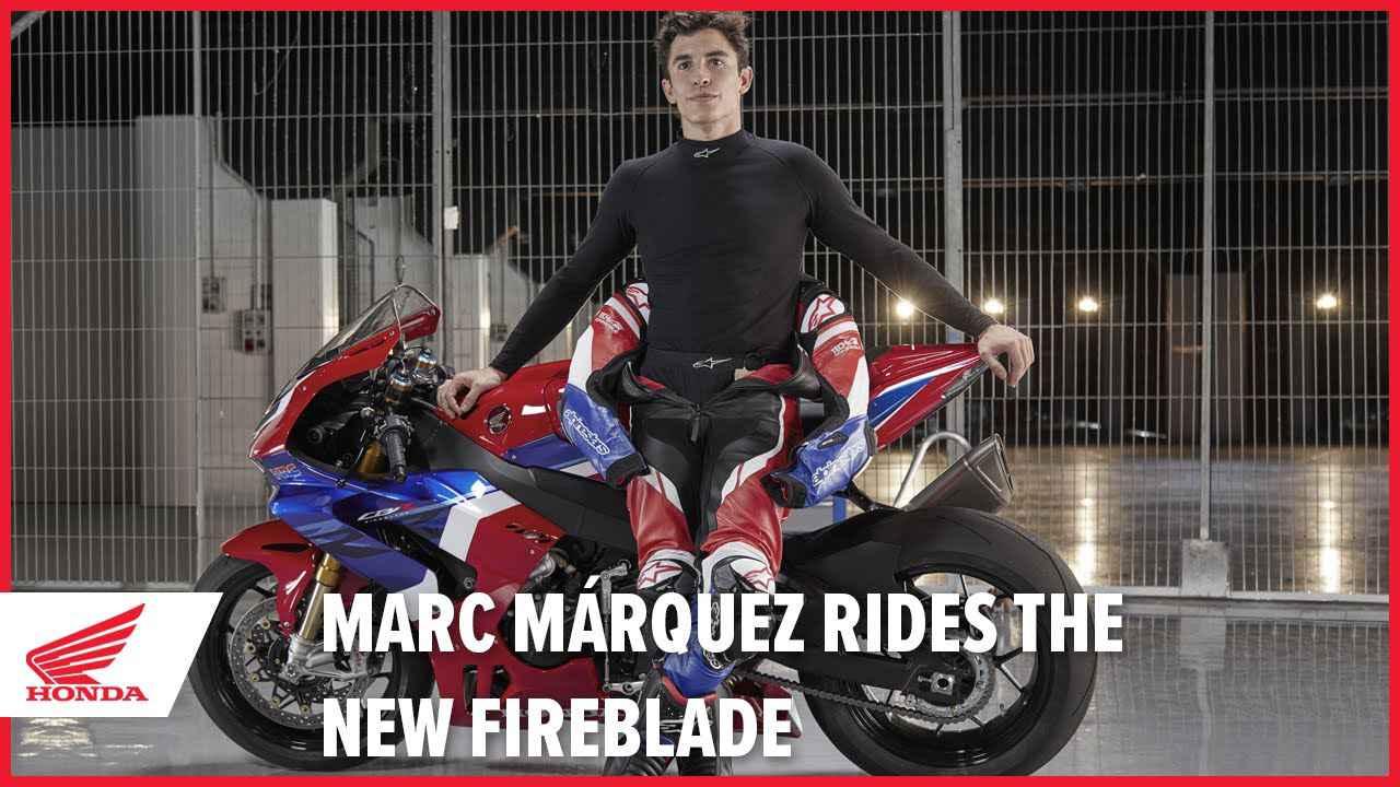 画像: Marc Márquez rides the new 2020 CBR1000RR-R Fireblade SP www.youtube.com