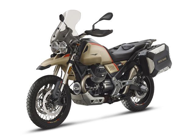 画像4: モト・グッツィが2020年に日本で販売するバイクを一挙5機種発表!