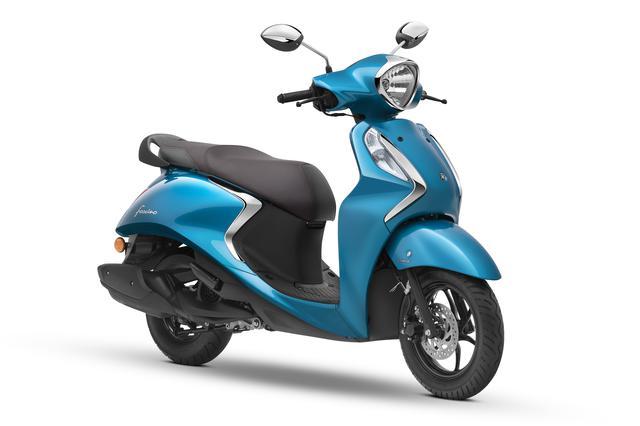 画像5: ヤマハがファッションスクーター「Fascino」の2020年モデルを1月にインドで発売