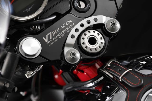 画像3: V7 III Racer 10th anniversary/発売予定時期:2020年5月頃