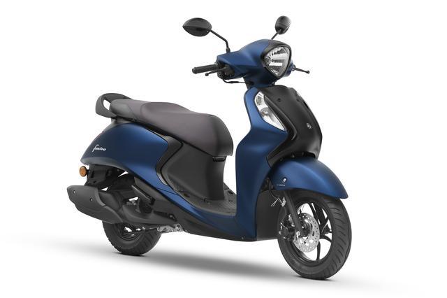 画像2: ヤマハがファッションスクーター「Fascino」の2020年モデルを1月にインドで発売