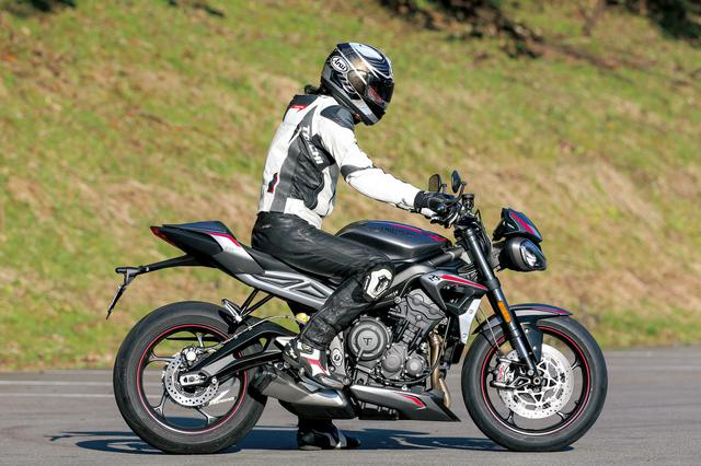 画像1: 【試乗インプレ】トライアンフ「ストリートトリプルRS」/Moto2テクノロジーで走りと装備を磨いた俊足ファイター