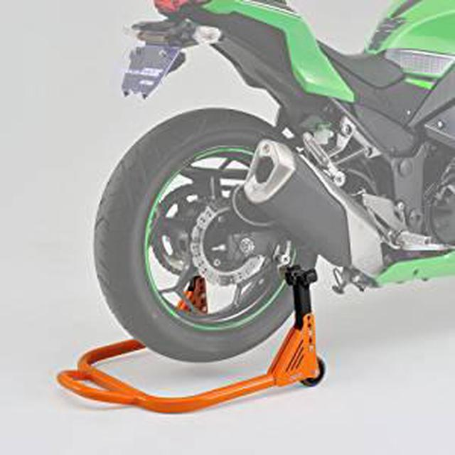 画像: Amazon | DAYTONA(デイトナ) リヤスタンド アジャスタブル 97103 | バイク工具・メンテナンス | 車&バイク