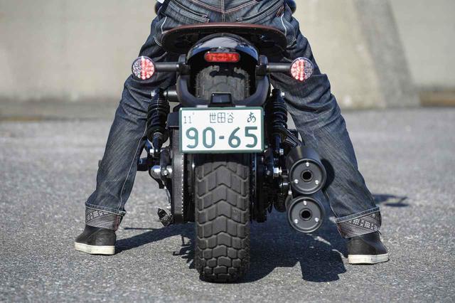 画像1: ホンダの『レブル250』と5mmしかシート高が変わらない!?