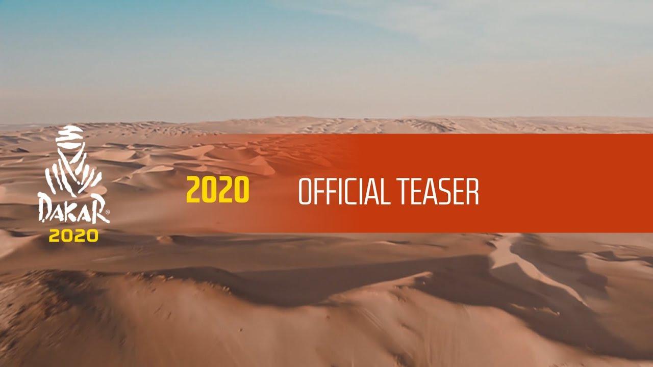 画像: Official Teaser - Dakar 2020 www.youtube.com