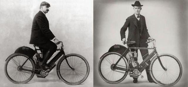 画像: 創業者George Hendee(右)とOscar Hedstrom(左)