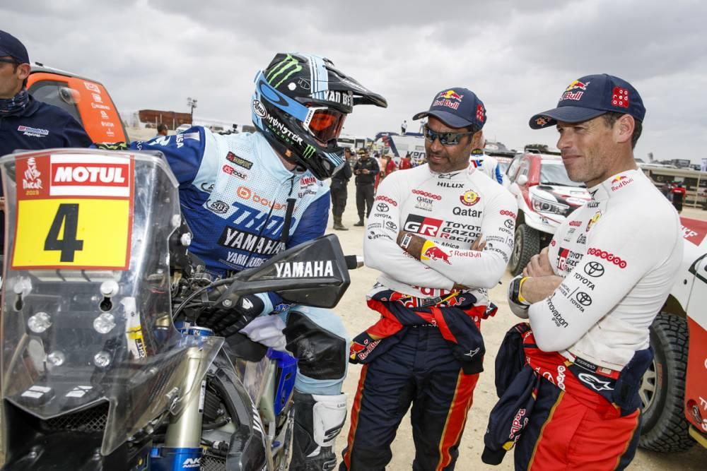 画像: 序盤ではステージ優勝こそなかったものの、常に安定した走りをみせた、ヤマハのエイドリアン•ファン・ビファレン。レース中盤までの総合順位ではトップ5内にキープし続けた。