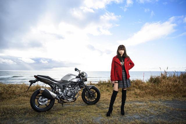画像2: SV650Xと葉月美優 Vol.②【MIU's On The Road @ SUZUKI】