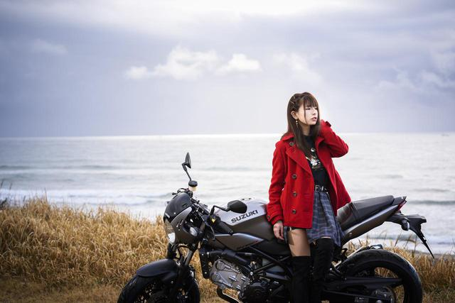 画像1: SV650Xと葉月美優 Vol.②【MIU's On The Road @ SUZUKI】