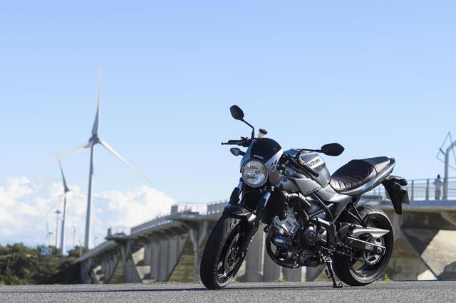 画像2: 《SV650Xってこんなバイク!》
