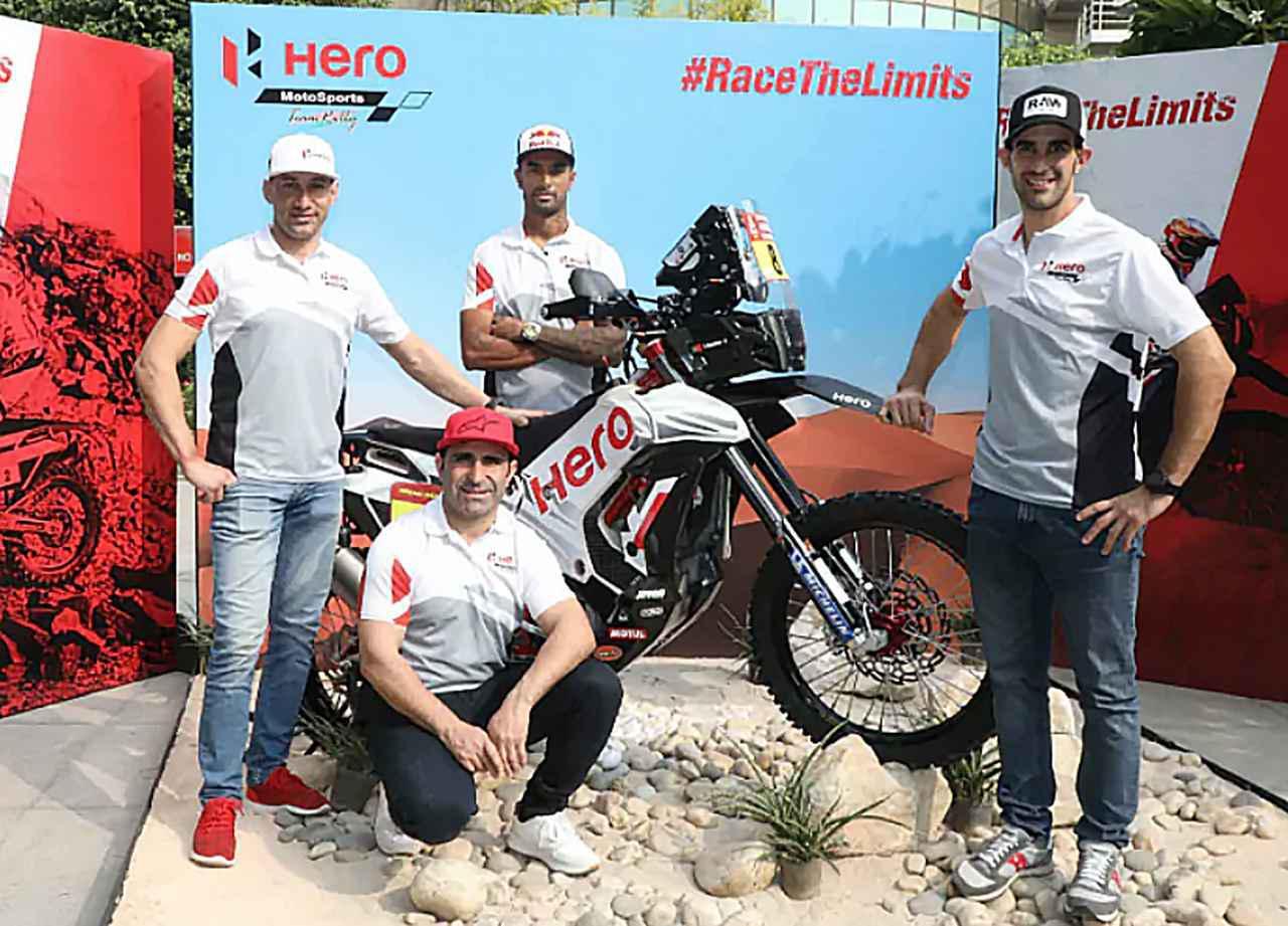 画像: Hero MotoSports Team Rally