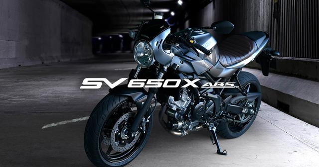 画像: 製品概要 | SV650X ABS | 二輪車 | スズキ