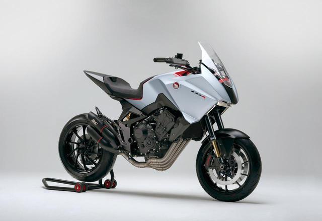 画像1: 2020年以降のバイクはこうなる? 未来を感じさせるホンダ「CB4X」を徹底解説!