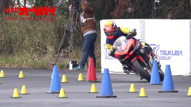 画像: Ninja400の限界に迫る走り! 作田隆義 選手のジムカーナライディング! youtu.be