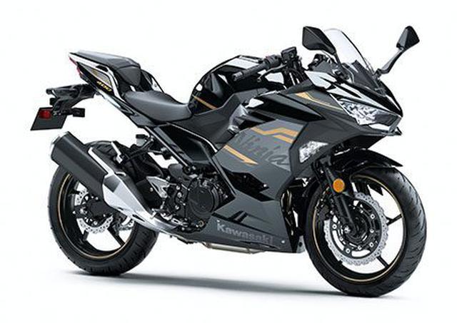 画像: カワサキ「Ninja 400」税込:72万6000円 水冷4ストDOHC4バルブ並列2気筒/398cc