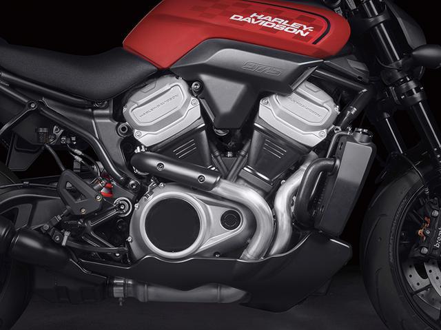 画像: ブロンクスに積まれる「Revolution Max」エンジンは排気量975㏄。パワーは最高出力115馬力以上、最大トルク9.6㎏-mという強力なもの。