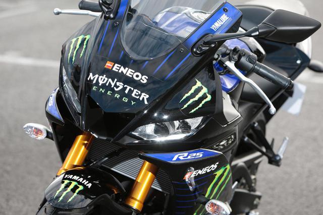 画像: 【全方位写真】ヤマハのYZF-R25に「モンスターエナジー」仕様が登場!? - webオートバイ