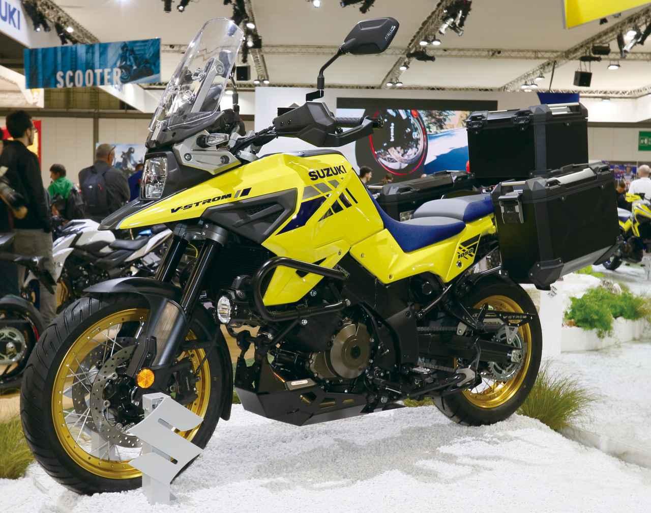画像: V-STROM 1050 XT(オプション装着車)