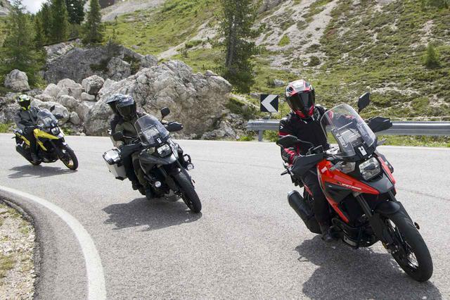 画像: 「Vストローム1050/XT」の人気カラーはどれ? - webオートバイ