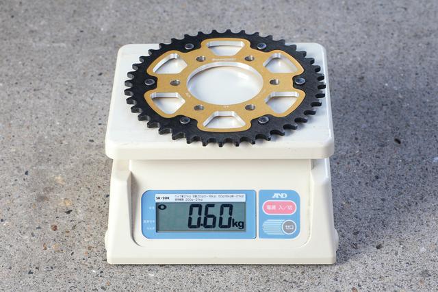 画像: 520-40の実測重量は600g。それまで使っていたオールアルミ製は300gだったが、メンテナンスとランニングコストを考えるとステルスのほうが使いやすい。