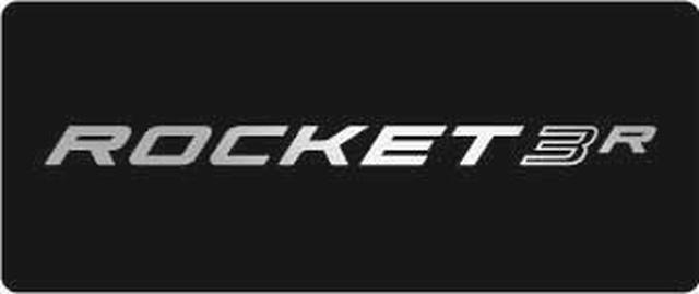 画像: 「新型 ROCKET 3 R オリジナルステッカー」縦 5 cm x 横 12 cm