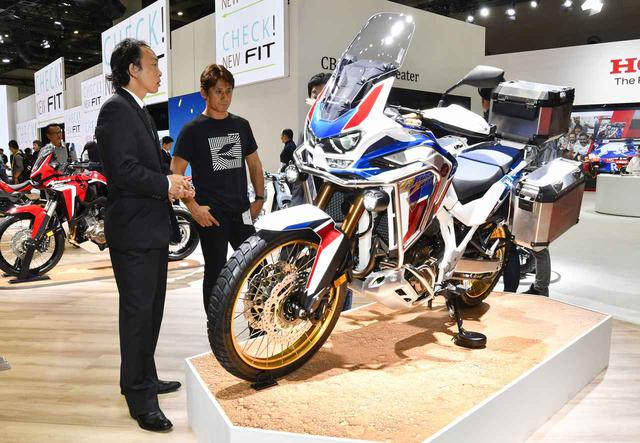 画像: CRF1100L Africa Twin Adventure Sports ES (オプション装着車)