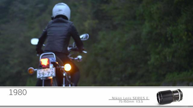 画像11: ヤマハ「SR400」が登場! ニコンZ 7に6種類のFマウントレンズ装着し撮影したショートムービー「Cool breeze」が1月6日からニコンミュージアムで上映中!