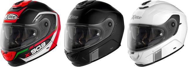 画像4: Nolan〈X-lite〉の新たなフルフェイスヘルメット「X-903」が1月下旬に発売!