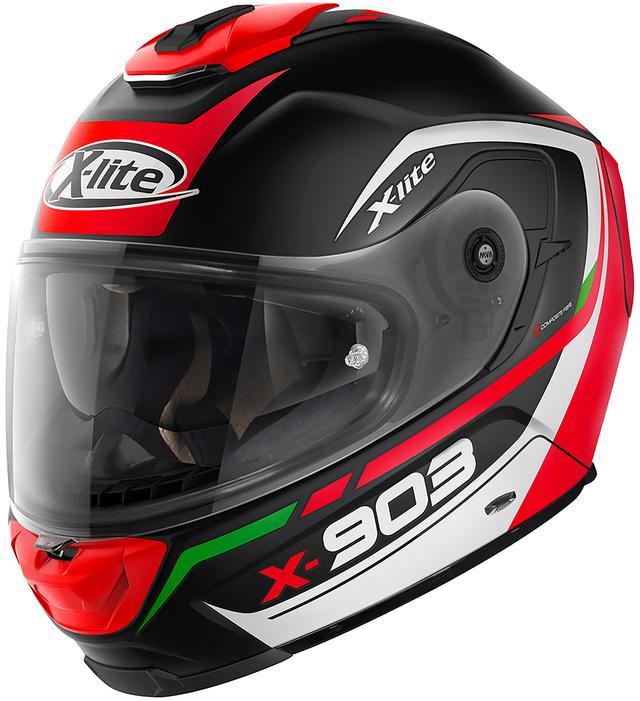 画像5: Nolan〈X-lite〉の新たなフルフェイスヘルメット「X-903」が1月下旬に発売!
