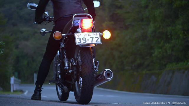 画像5: ヤマハ「SR400」が登場! ニコンZ 7に6種類のFマウントレンズ装着し撮影したショートムービー「Cool breeze」が1月6日からニコンミュージアムで上映中!