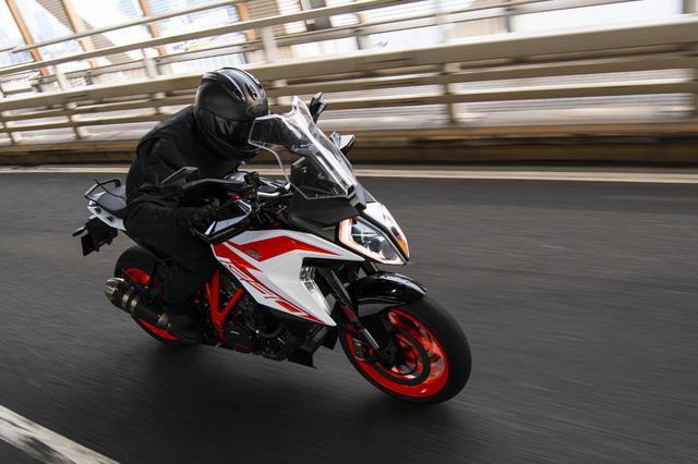 画像: 〈試乗インプレ〉KTM「1290 SUPER DUKE GT」(2019年) - webオートバイ