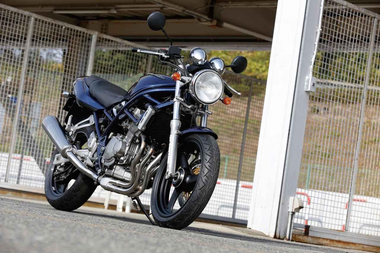 画像1: SUZUKI BANDIT 250/鋼管トラスフレームを採用した250ccネイキッド
