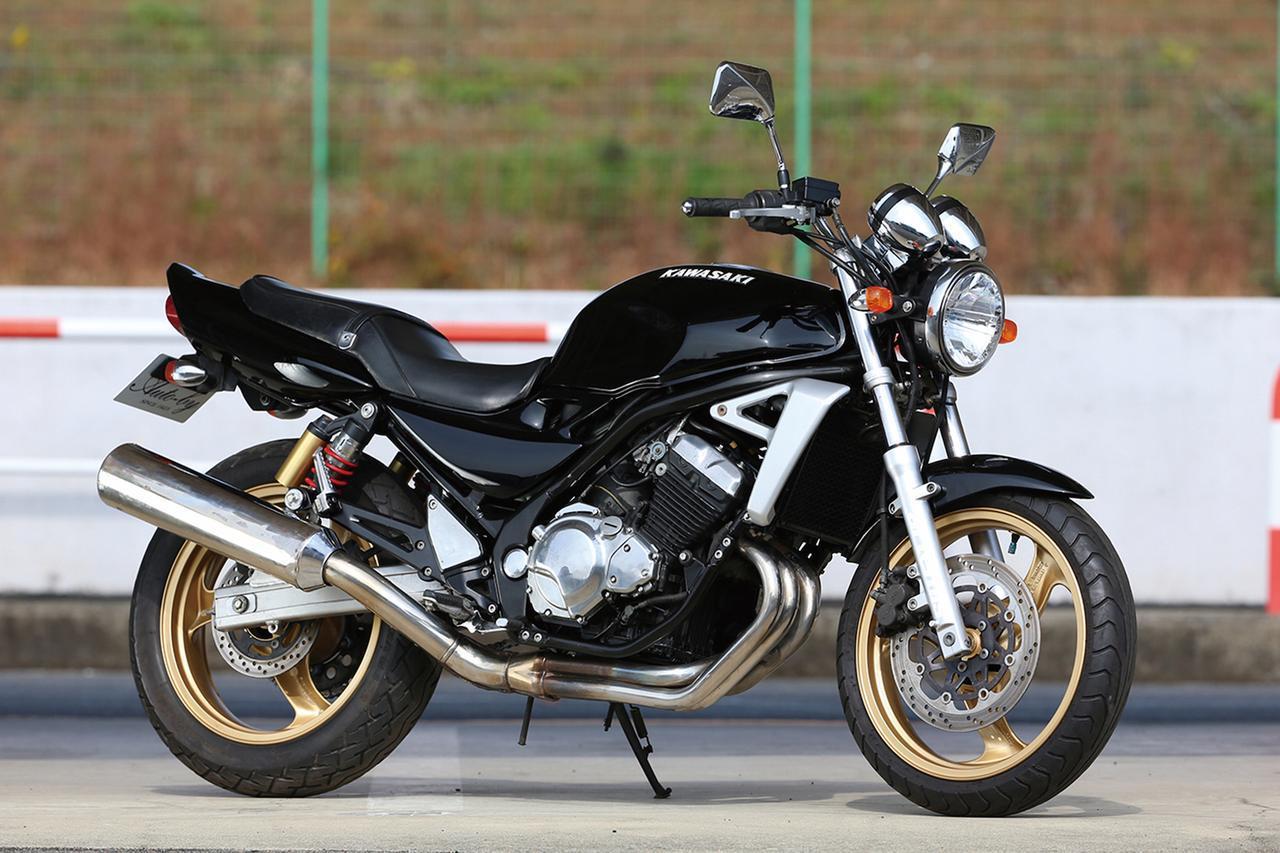 画像1: Kawasaki BALIUS II/ZXR譲りの高回転型エンジンを搭載