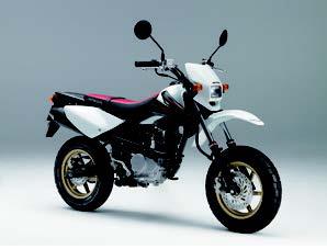 Images : ホンダ XR100 モタード 2008 年1月