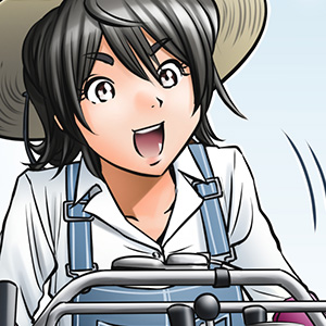 画像: みのりの大地 Chapter 10「農業の魅力」 COMICS - Honda Power Products : Honda Motor Co.,Ltd.