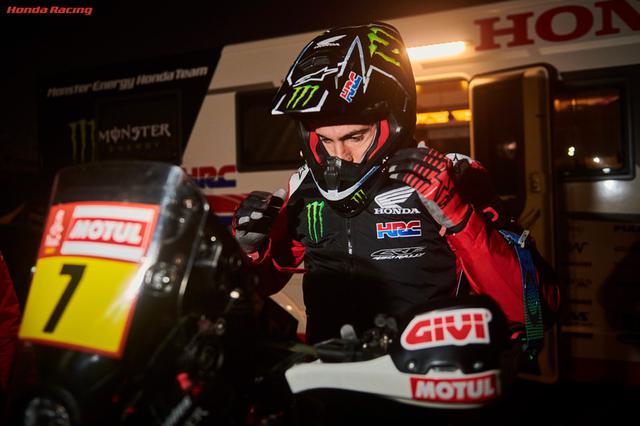 画像: 総合3位のMonster Energy Honda Teamケビン・ベナバイズ選手