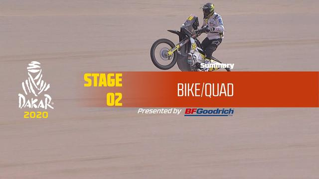 画像: Dakar 2020 - Stage 2 (Al Wajh / Neom) - Bike/Quad Summary www.youtube.com