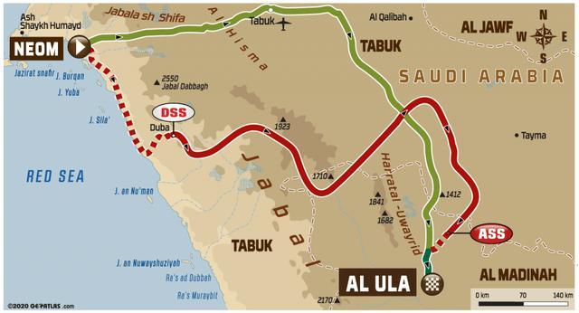 画像: Stage 4 ネオム→アル・ウラー