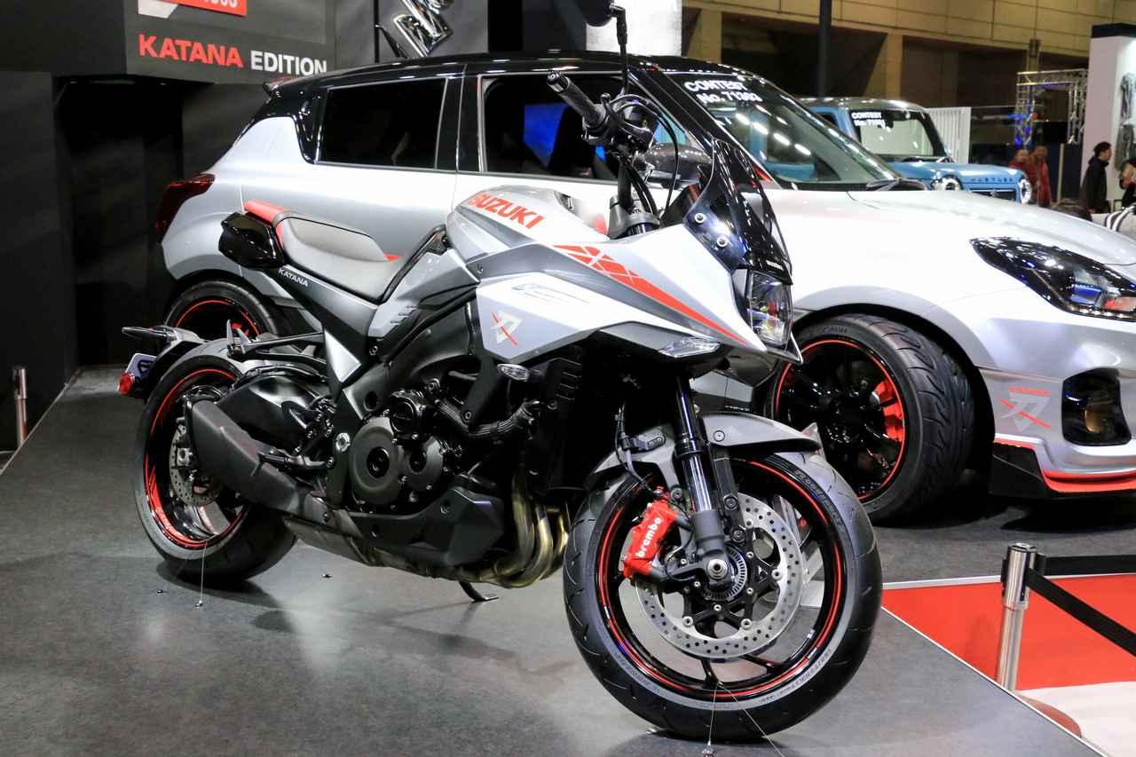Images : 4番目の画像 - KATANAとスイフトスポーツ カタナエディションの写真をもっと見る! - webオートバイ