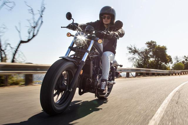 画像: 新型ホンダ「レブル」の情報 - webオートバイ
